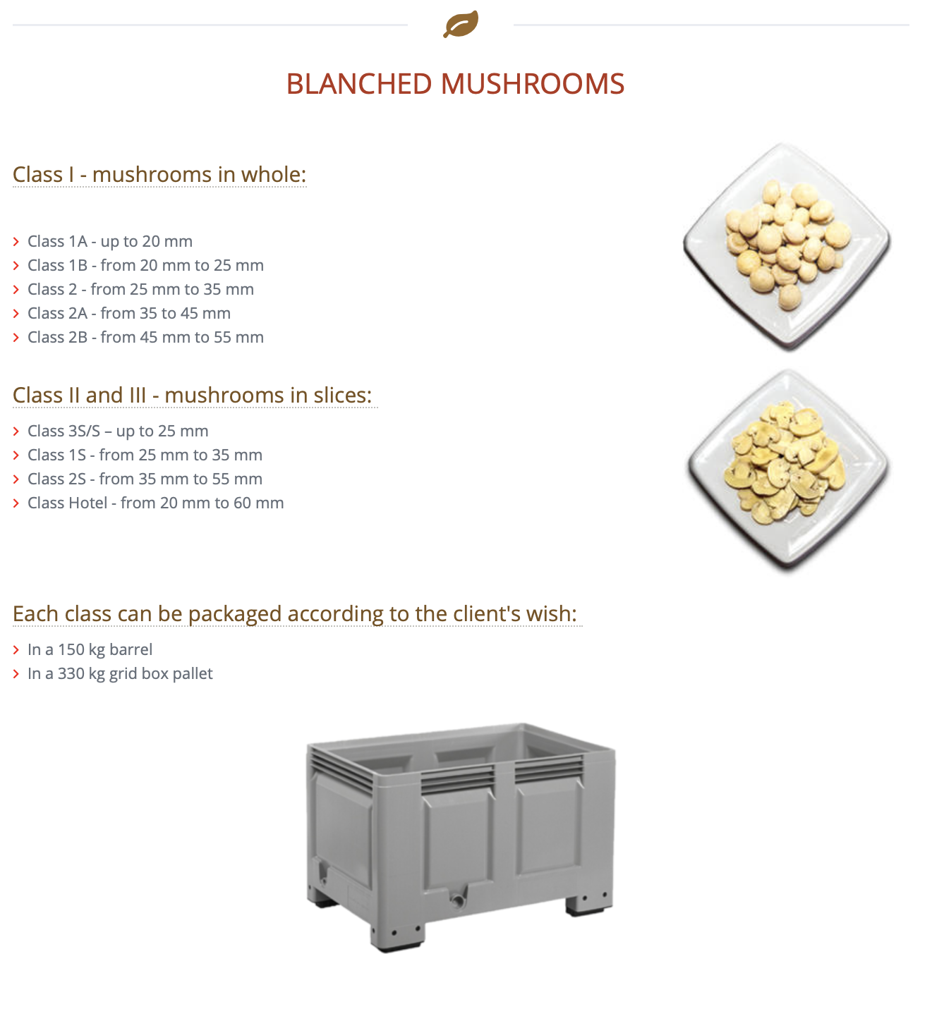 We Supply Fresh Mushrooms To Wholesale Markets, Restaurants, Direct To Consumers & More.